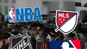 NBA, MLB, MLS and NHL Team Up To Limit Locker-Room Access Due To Coronavirus