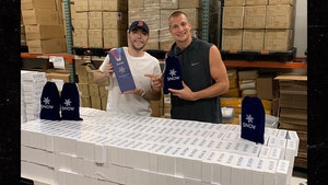 Rob Gronkowski's Teeth Whitening Co. Helps Small Businesses During COVID-19 Scare