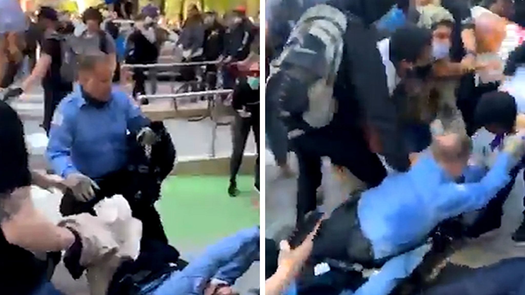 Chicago Protests Cops Dragged, Tossed by Protesters