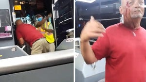 Bus Driver Throws Blows Against Unruly Passenger, Caught on Video