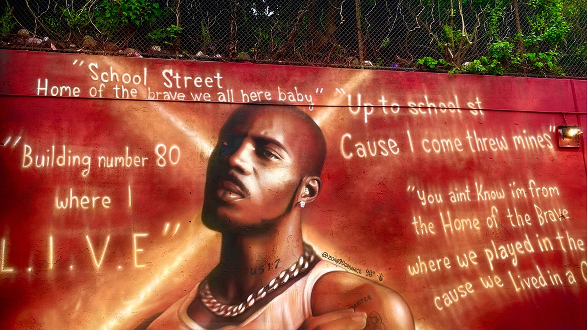 First Look at DMX Mural Set to Be Unveiled in His Hometown thumbnail