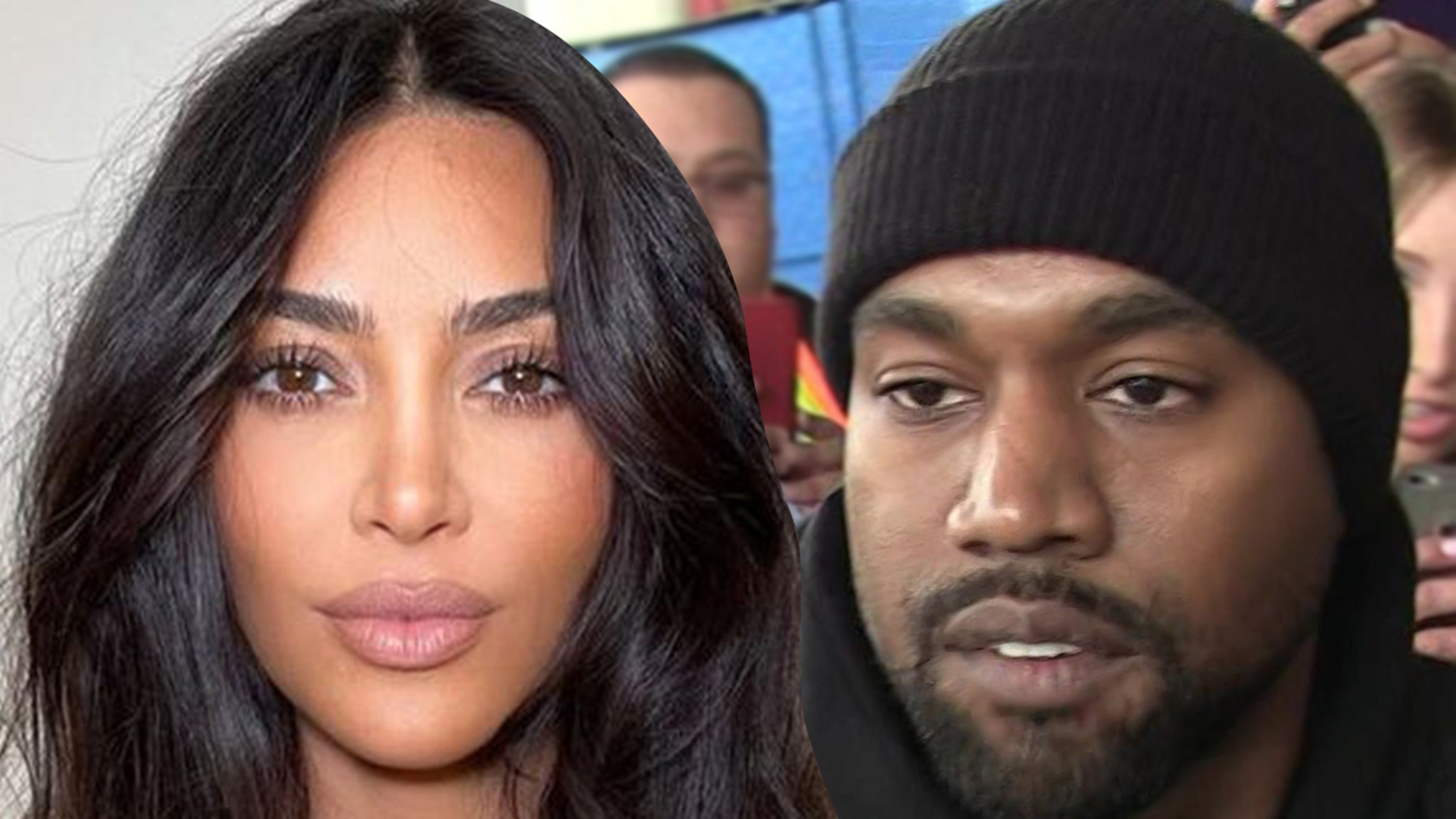 Kim & Kanye Divorce Not a Done Deal, Privately Working on Relationship