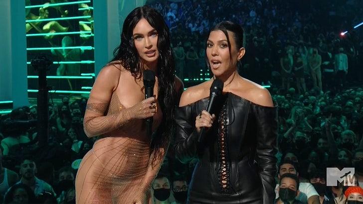 Kourtney Kardashian, Megan Fox Team Up for Sexy SKIMS Shoot with Apple