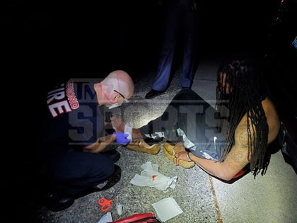 Richard Sherman and Cops Suffered Bloody Wounds In Altercation.jpg