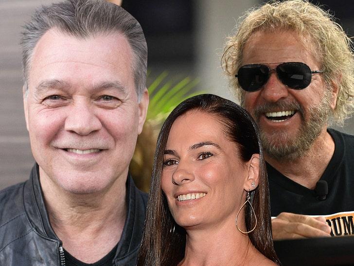 Sammy Hagar, Eddie Van Halen Widow Pay Tribute to Late Rock Star.jpg