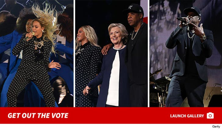Jay Z & Beyonce -- Get Out The Vote Concert