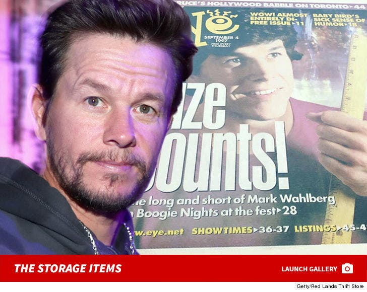 Mark Wahlberg's Storage Items