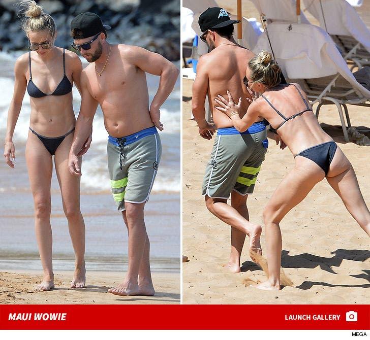 Lauren Bushnell and Chris Lane -- Hotties in Hawaii