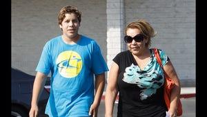 Arnold Schwarzenegger's Secret Son -- Walking (Very) Tall Before Dad's Book Release
