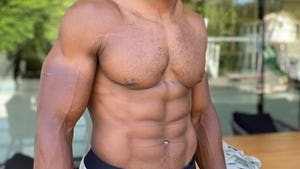 Ripped NFL Abs -- Guess Who!