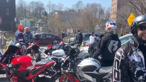 'Ruff Ryders' Motorcycle Crew Rolls Up to DMX's Hospital to Pay Tribute