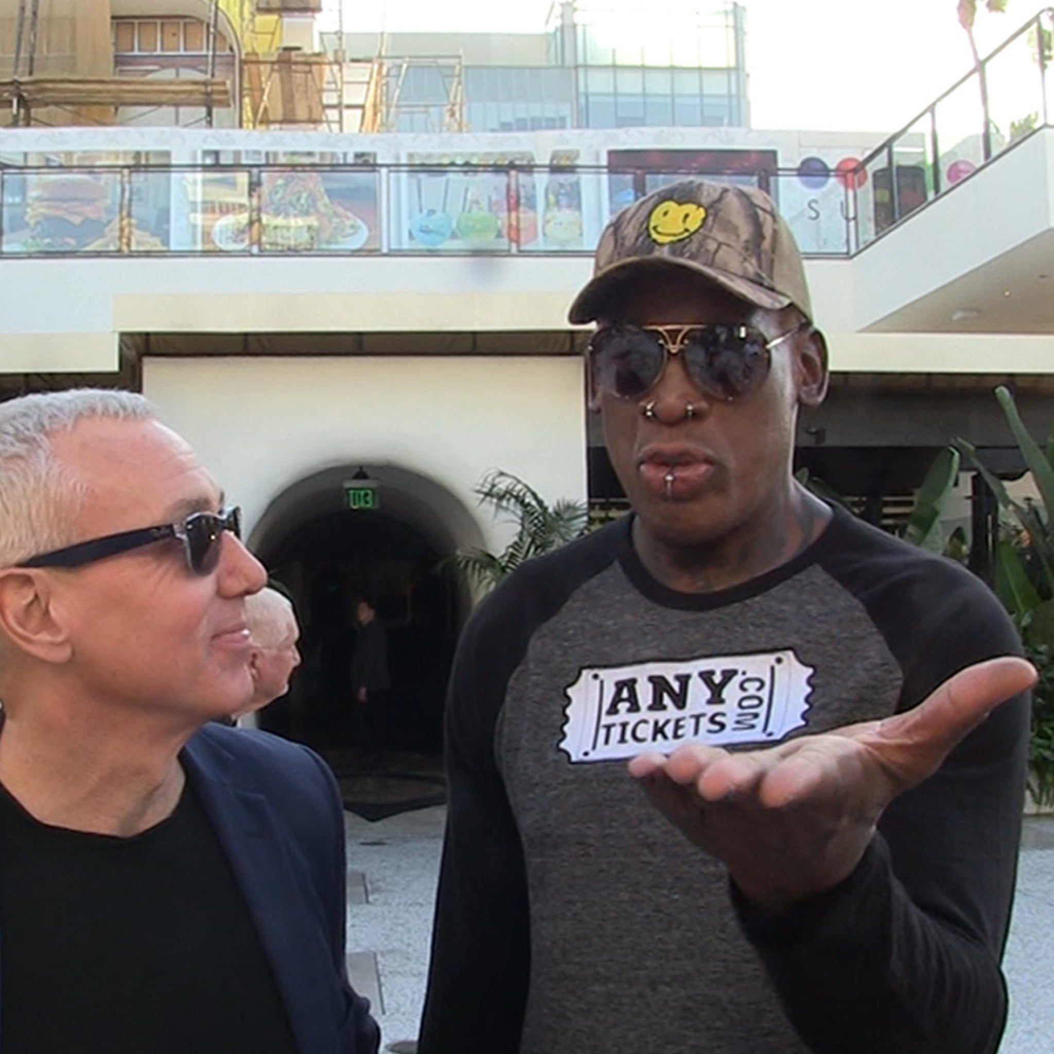 Dennis Rodman Clowns Antonio Brown, 'How to Ruin Your Career 101'