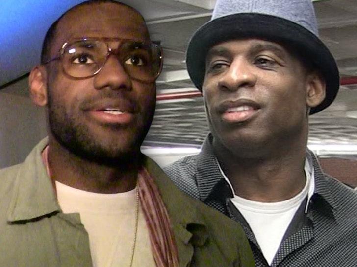LeBron James Backs Deion Sanders For