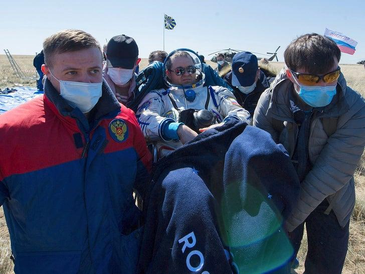 NASA Astronauts Return to Coronavirus-Plagued World