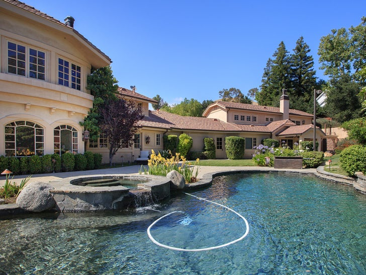 Russell Peters' New Hidden Hills Home