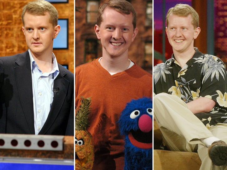 Ken Jennings Through The Years
