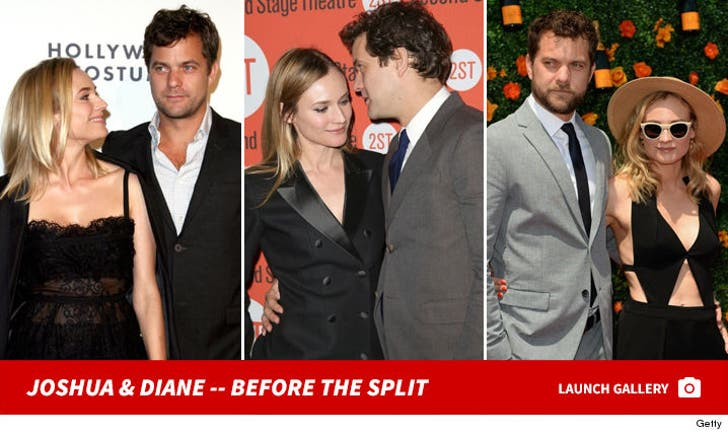 Joshua Jackson and Diane Kruger -- Before the Split