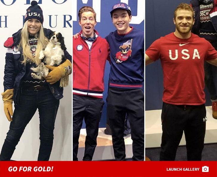 Team USA In PyeongChang