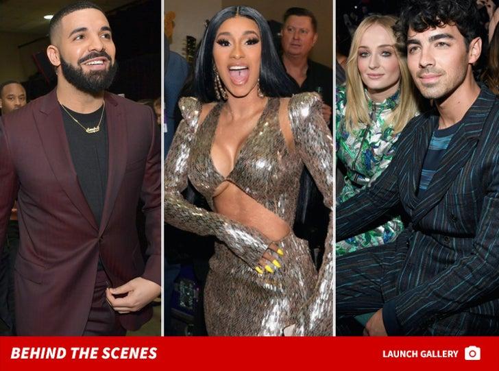 2019 Billboard Music Awards -- Behind the Scenes Photos