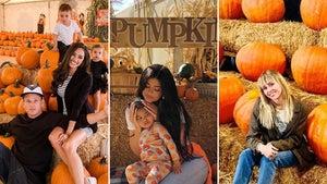 Celebs At The Pumpkin Patch ... Gourdeous!
