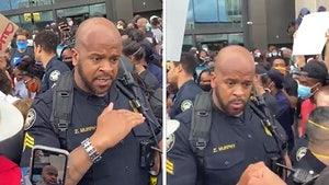 Atlanta Cop Wins Over Crowd Protesting George Floyd's Death