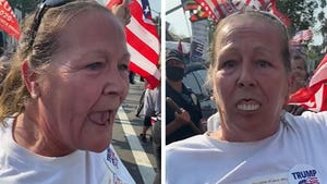 Trump Supporter Hurls Xenophobic Attack As Dentures Keep Falling Out