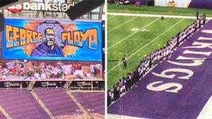 Minnesota Vikings Honor George Floyd Ahead of Kickoff