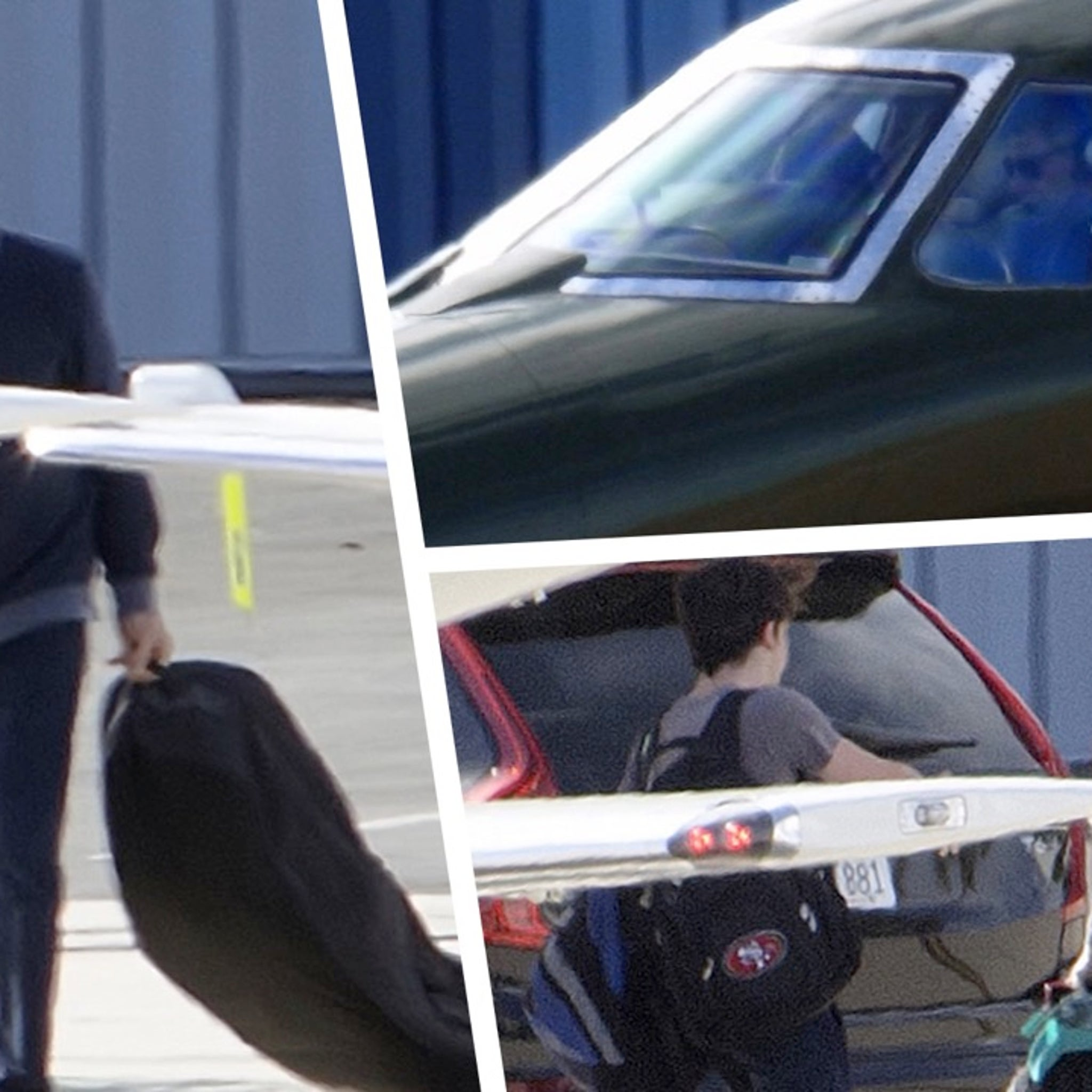 Harrison Ford Flies Wife and Son in Jet After 'Schmuck' Taxiway Landing