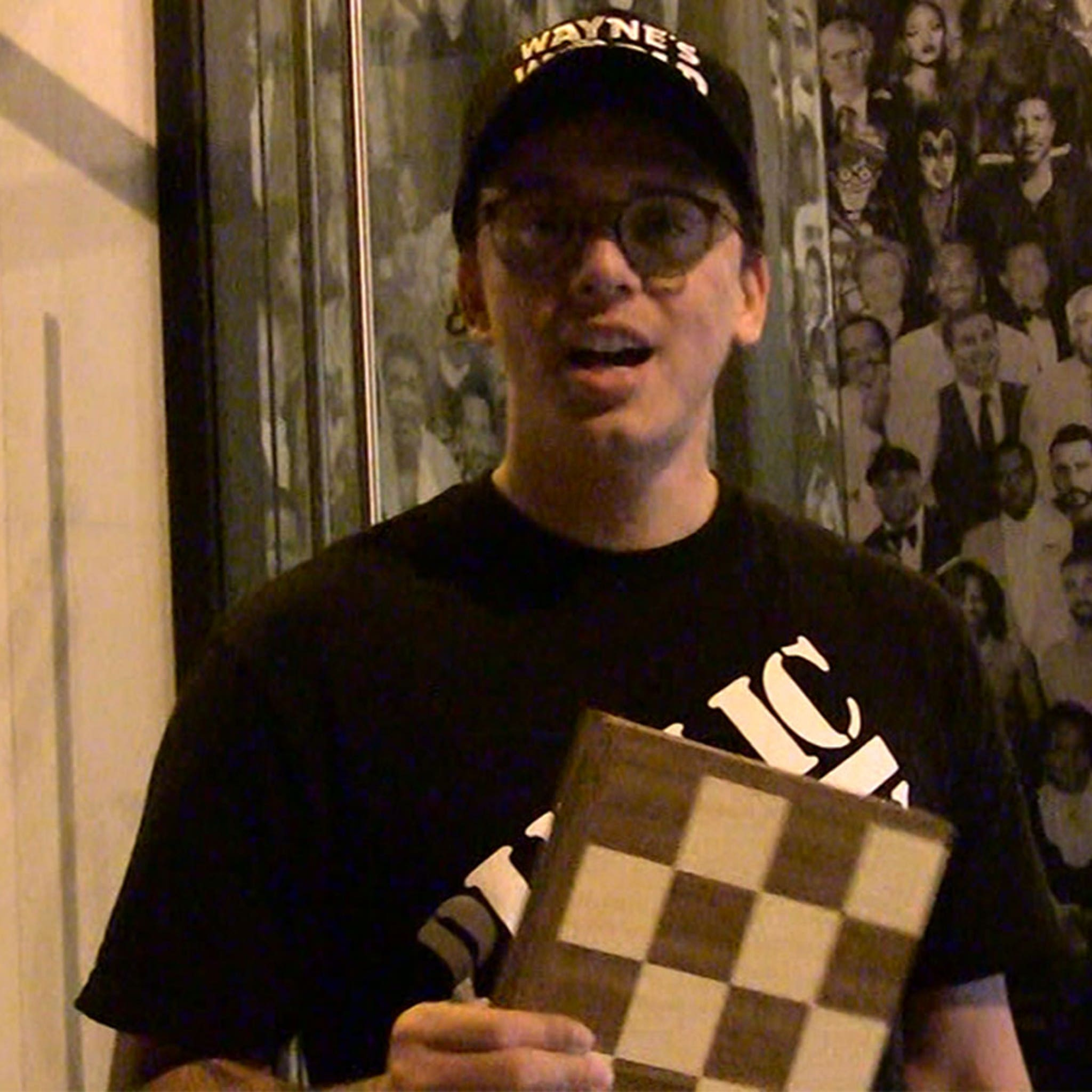 Logic Says He's Married, Challenges TMZ Photog To Chess