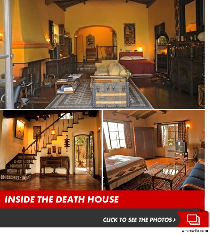 Johnny Lewis Murder -- Death House was Crash Pad for HUGE Stars