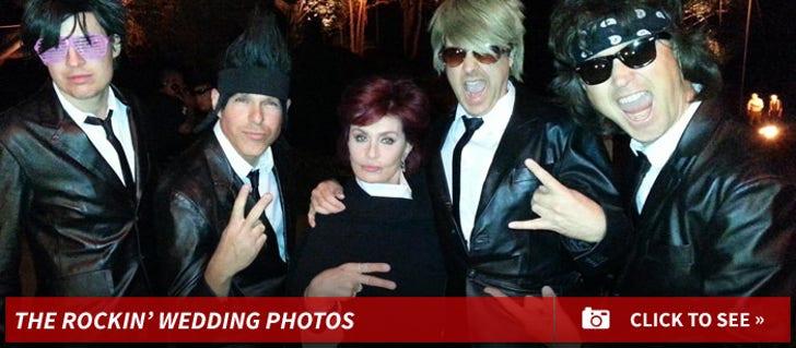 Linda Perry and Sara Gilbert's Rocking Wedding Photos