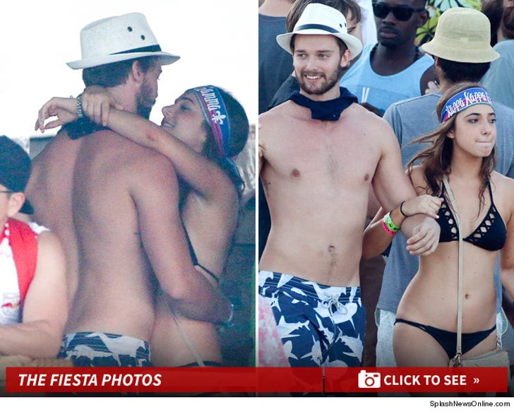Patrick Schwarzenegger -- Party in the C.A.B.O. ... And That Ain't Miley!