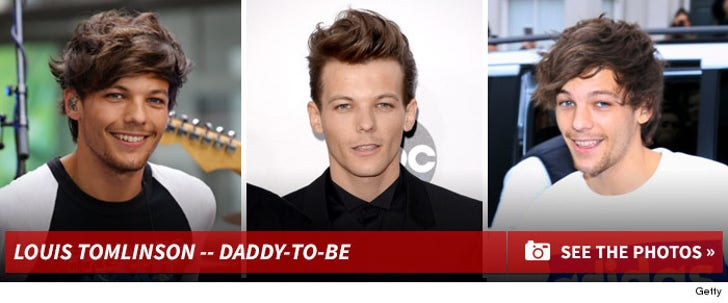 Louis Tomlinson's Daddy-To-Be Photos