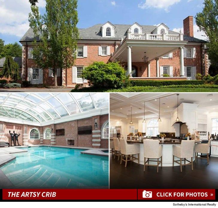 Swizz Beatz and Alicia Keys -- The New Jersey Art House