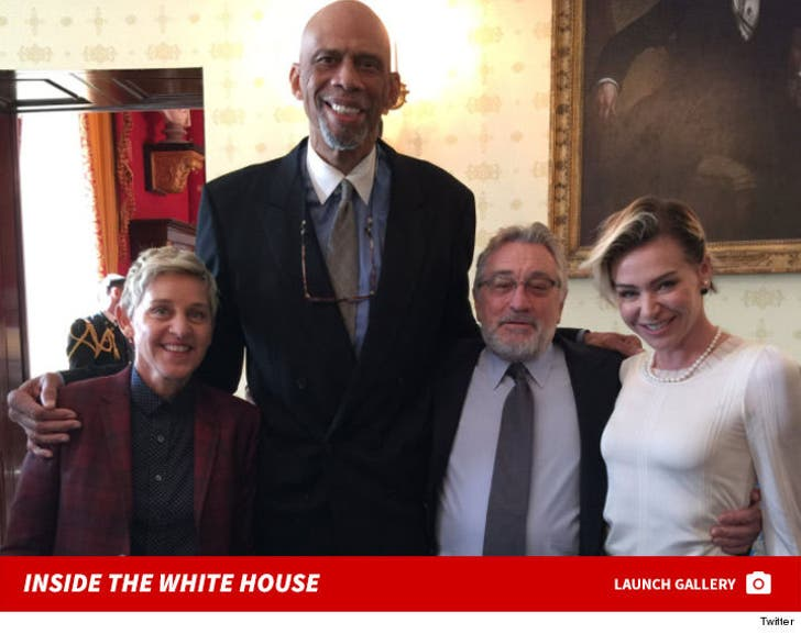 Celebrities Inside the White House