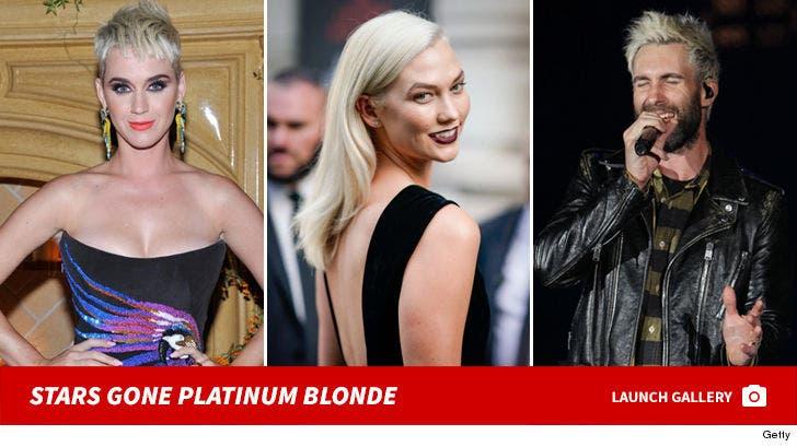 Stars Gone Platinum Blonde