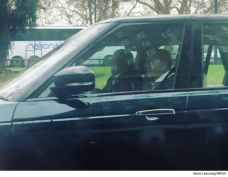 Prince Philip Wears Seat Belt and Tells Accident Victim He's