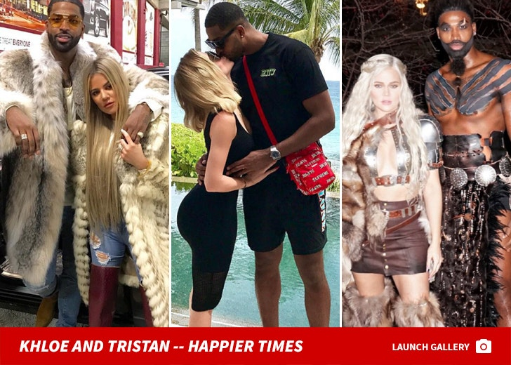Khloe Kardashian and Tristan Thompson Together