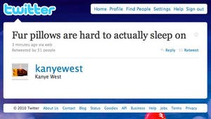 Kanye West Tweet of the Day