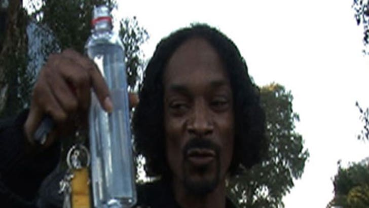 Snoop Dogg Pimps Out for Free Gear