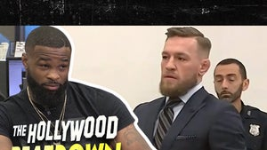 Tyron Woodley Says, Free Conor McGregor For My Sake!
