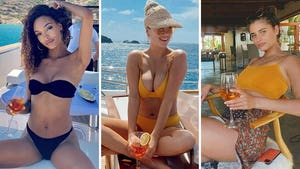 Celebs Sippin' Summer Spritzers -- Aperol The Rage!