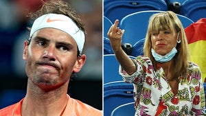 Rafael Nadal Heckler Booted From Australian Open, Shot Middle Finger At Tennis Star!