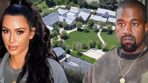 Kim Kardashian May Get Hidden Hills Mansion in Divorce, Best for the Kids
