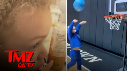 Drake's Son Adonis Reacts to LeBron James Highlights | TMZ TV.jpg
