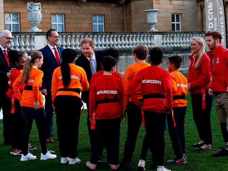 Prince Harry Tackles Rugby League World Cup Draws