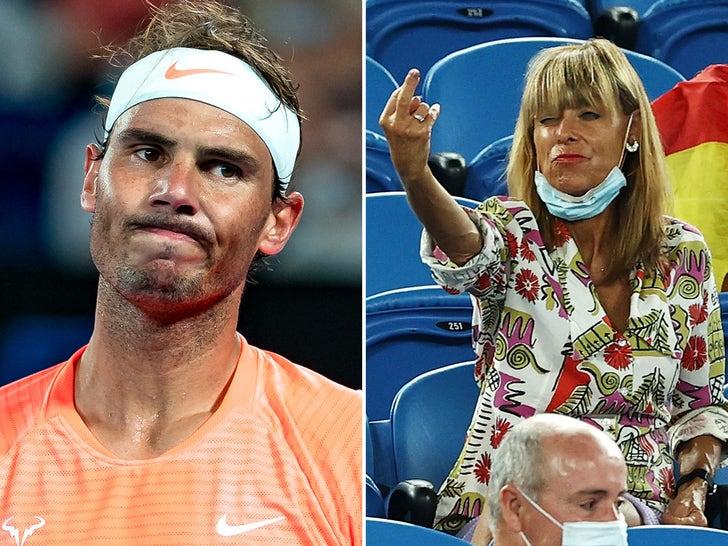 Rafael Nadal -- No Love From Heckler