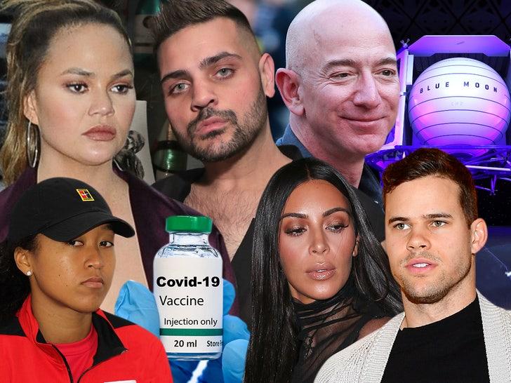 Chrissy tiegan michael costello jeff bezos kim kardashian kris humphries composite