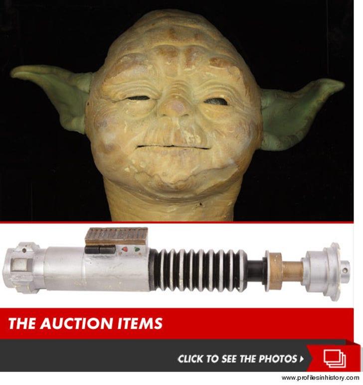 'Star Wars' Memorabilia -- Own a REAL Lightsaber (It's Still Fake)