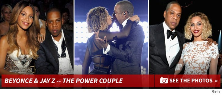 Beyonce & Jay Z -- Together Photos